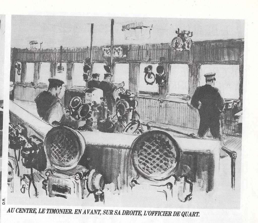 Paquebot Normandie 1942 1110
