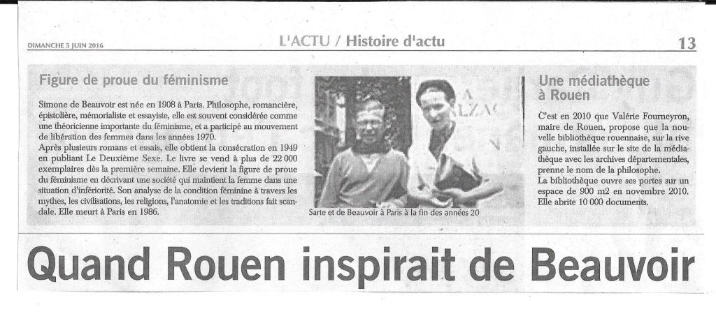 Simone de Beauvoir à Rouen 116