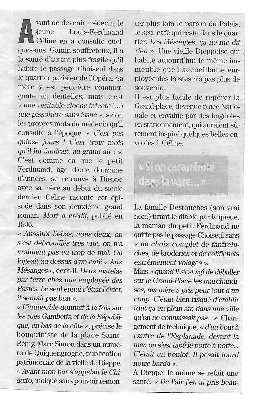 Louis-Ferdinand Céline à Dieppe 227