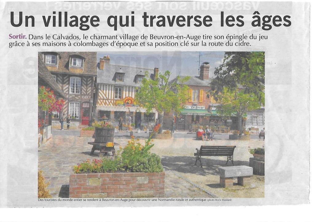 Histoire des communes - Beuvron-en-Auge 312