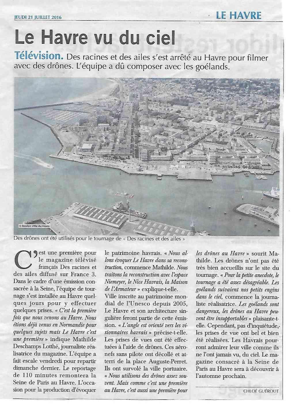 Havre - Histoire du Havre - Vu du ciel 330