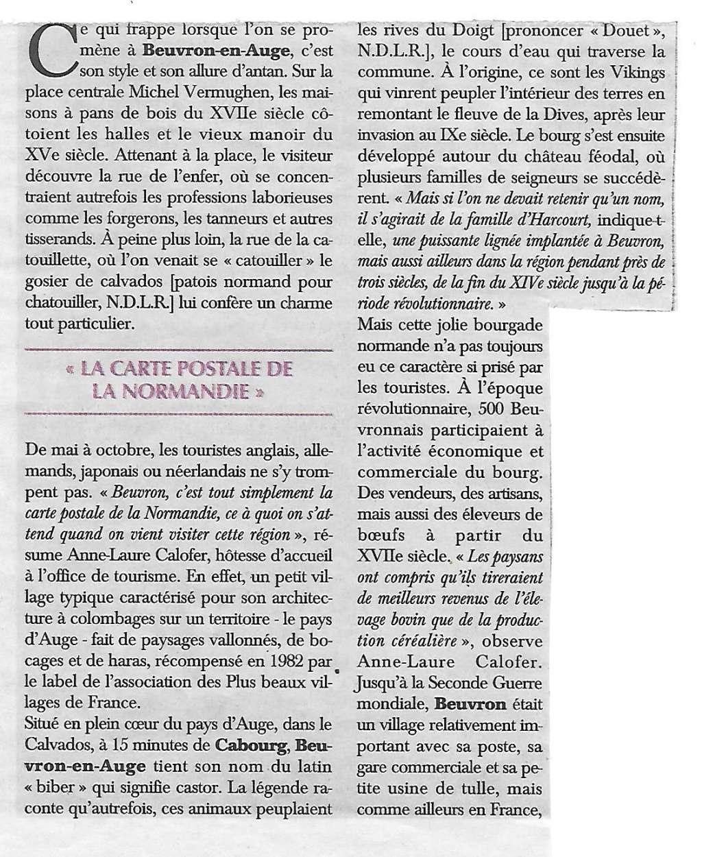 Histoire des communes - Beuvron-en-Auge 411