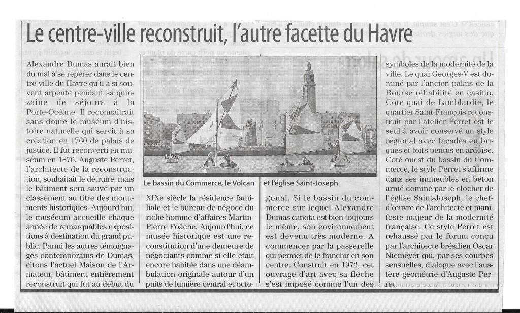 Havre - Alexandre DUMAS au Havre 421
