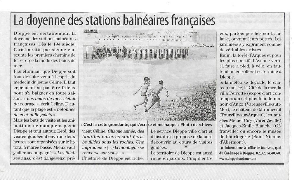 Louis-Ferdinand Céline à Dieppe 424