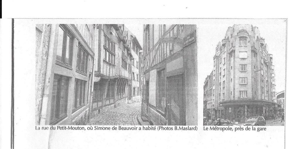 Simone de Beauvoir à Rouen 517