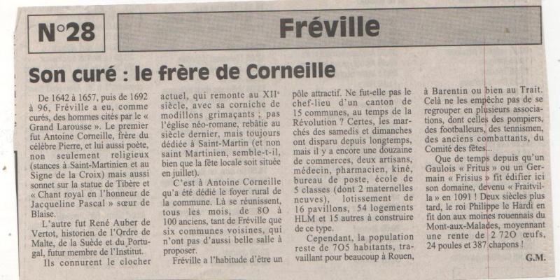 Histoire des communes normandes - Fréville Fravil11