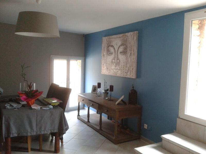 peintures salon séjour + cuisine