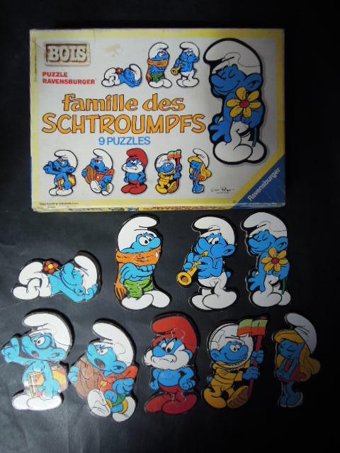 puzzles silhouettes schtroumpfs Dscn2113
