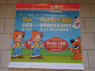 Boule et Bill déboulent à La Boucherie  Dscn7842