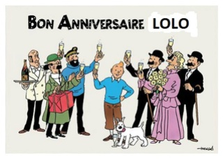 Bon Anniversaire Lolo