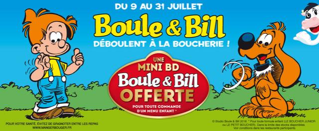 Boule et Bill déboulent à La Boucherie  Slider10