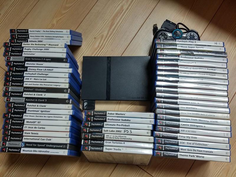 [VDS] A vendre un lot PS2 + des jeux PS4 + lot jeux XBOX 0110
