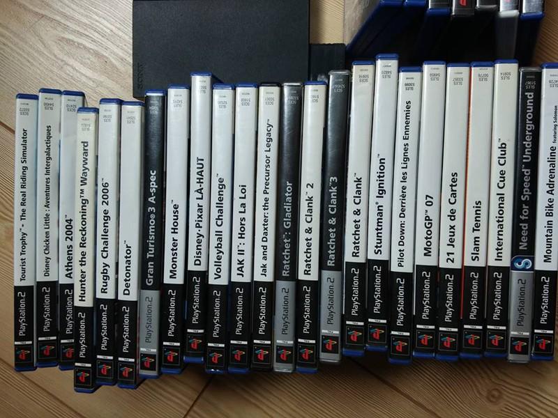 [VDS] A vendre un lot PS2 + des jeux PS4 + lot jeux XBOX 0310