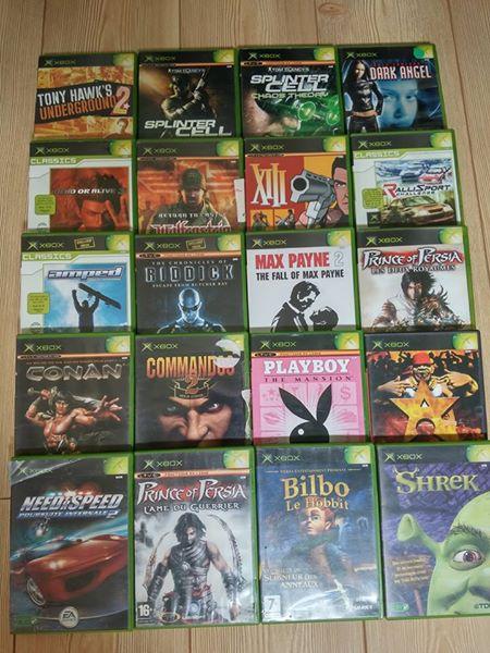[VDS] A vendre un lot PS2 + des jeux PS4 + lot jeux XBOX 13407510