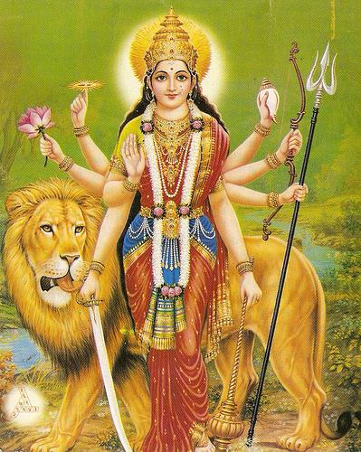 Les origines de la déesse Mère Durga_10