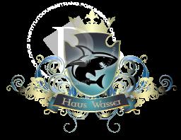 As escolas e suas casas: Hogwarts, Durmstrang, Beauxbatons, Ilvermorny, CasteloBruxo e Mahoutokoro Logo210