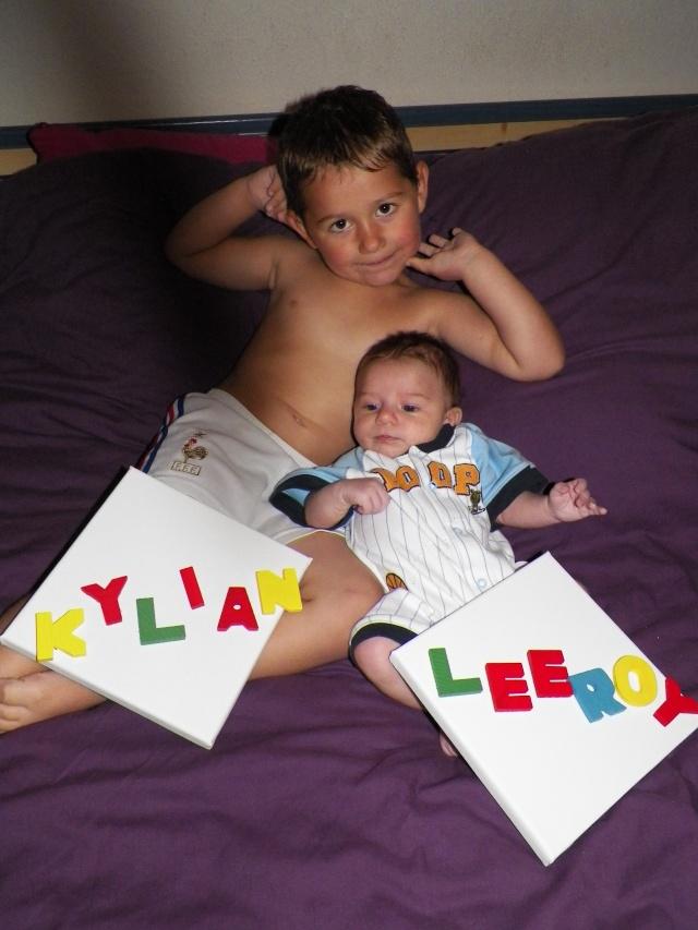 Kylian et Leeroy : Mes crapouillauds  100_5910