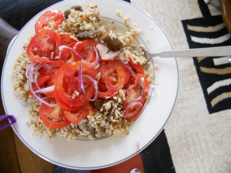 Pilau - riso con stufato di carne Immagi11