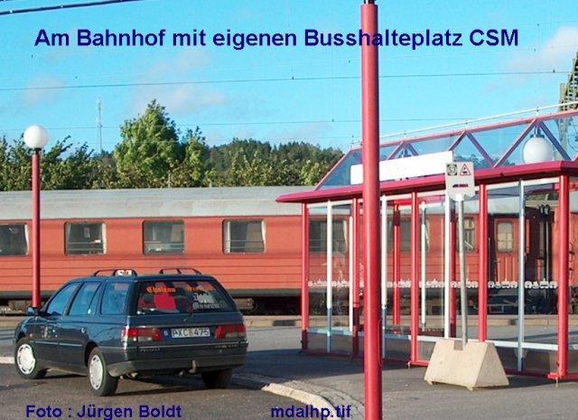 Das Munkedal - Oberstdorf - Bahn Projekt 1:45 Bb710