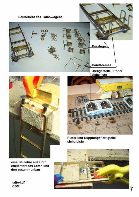 Bauberichte vor 2006  Talfo410