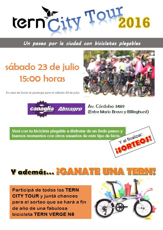 T.C.T. CANAGLIA ALMAGRO - Sábado 23 de JULIO Flyer10