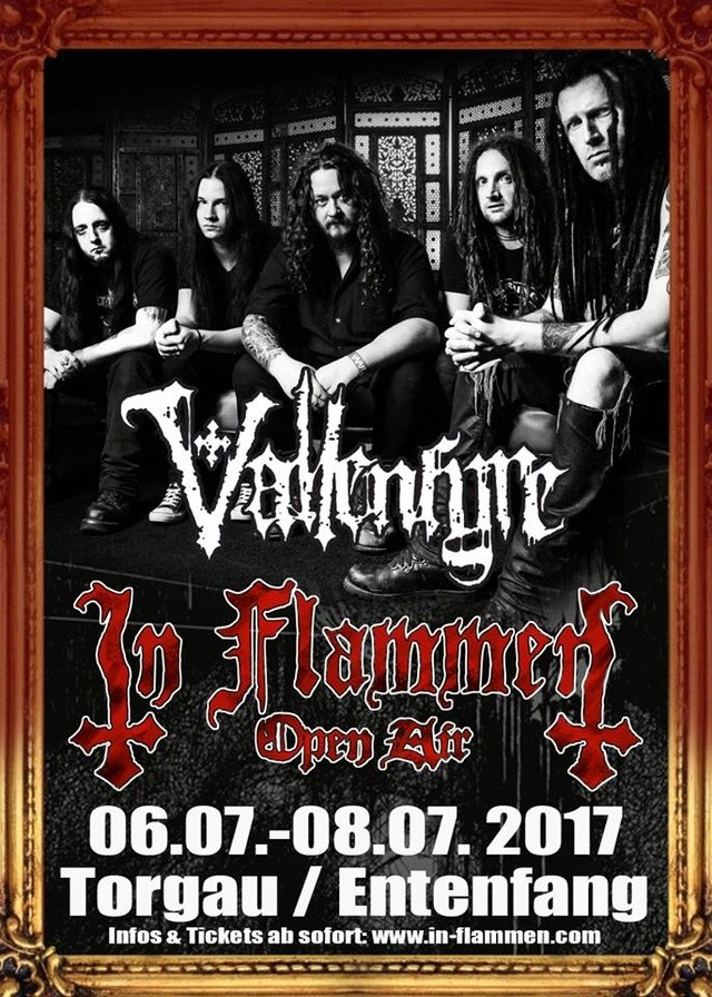 Next gig in Flammen open air in July 2017 Flamme10