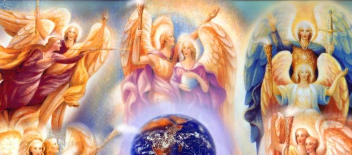 Как работать с ангелами: план из десяти ступеней  1angel10