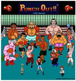Mike Tyson's Punch-Out ( Nes ) Punch-10