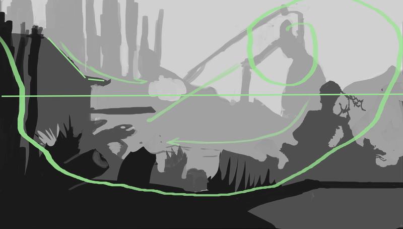 IM challenge #7 [Lazu] La vieille folle des marais qui éleve des crocodiles Compo10