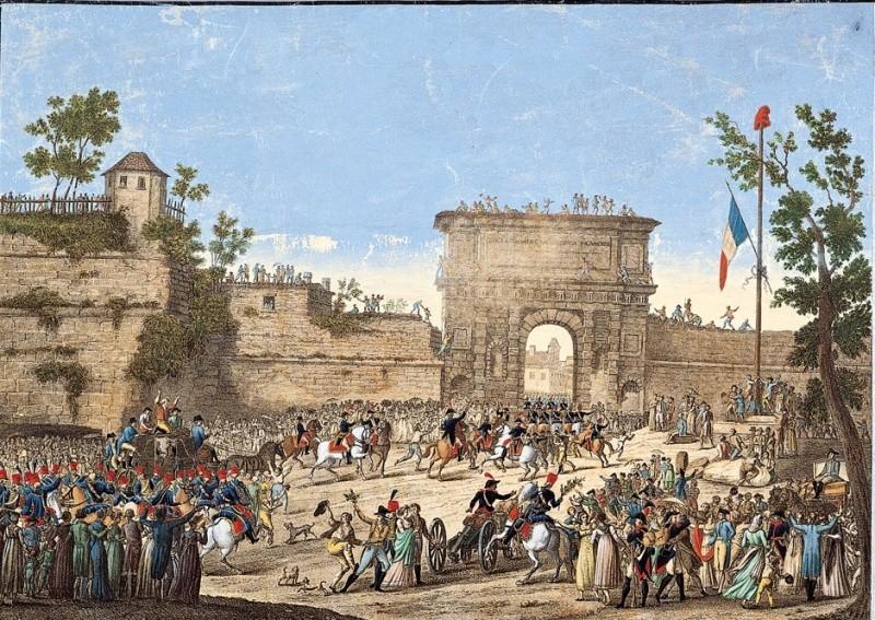 Entrée des Français dans Milan en mai 1796 Entrye10