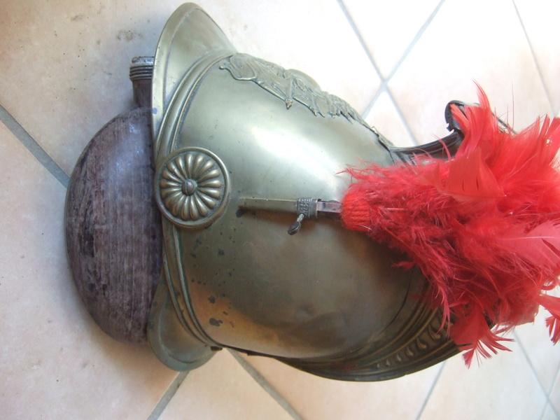 "casque pompiers 1860 dit ""campagnard""- ESC 1 VENDU Dscf5322"
