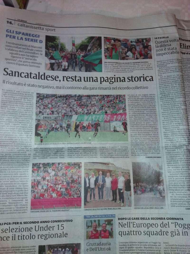 Finale andata nazionale: Sancataldese - castrovillari 0-3 0410
