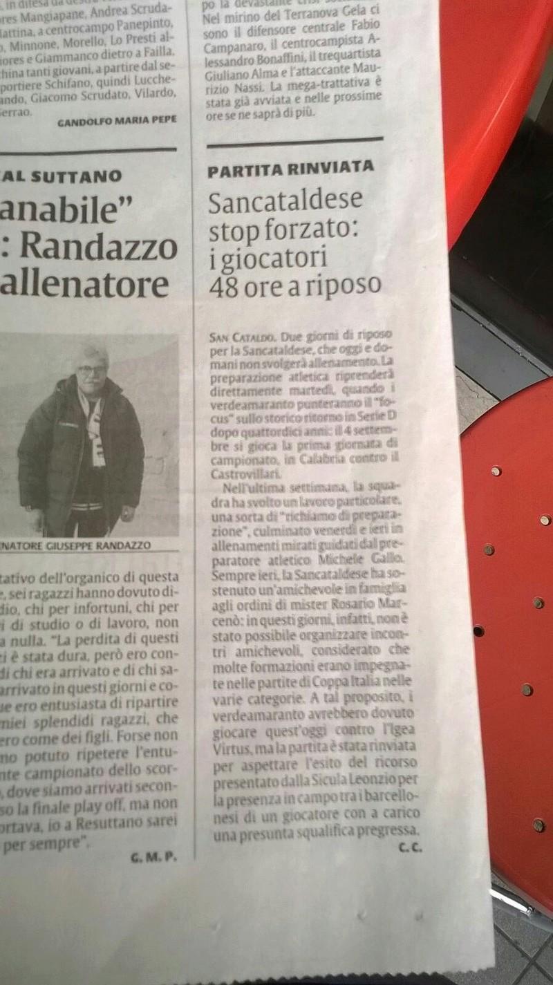 1° Turno - Gara unica: sicula leonzio - SANCATALDESE 1-3 dcr Img_2014