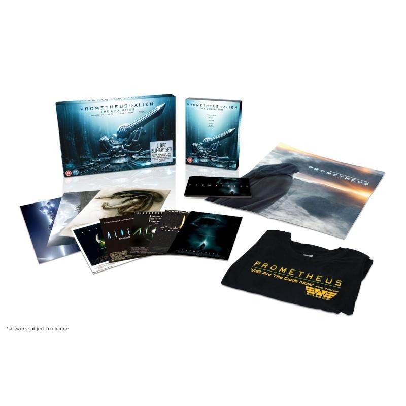 Evolution : De Alien à Prometheus 03/10/12 9 disques 81hwrt10