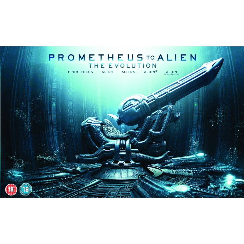 Evolution : De Alien à Prometheus 03/10/12 9 disques 91yqmc10
