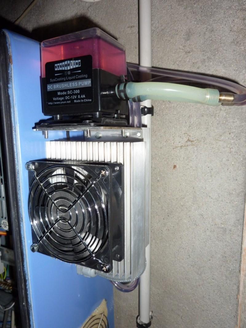 Système de refroidissement de broche water cooled  P1040317