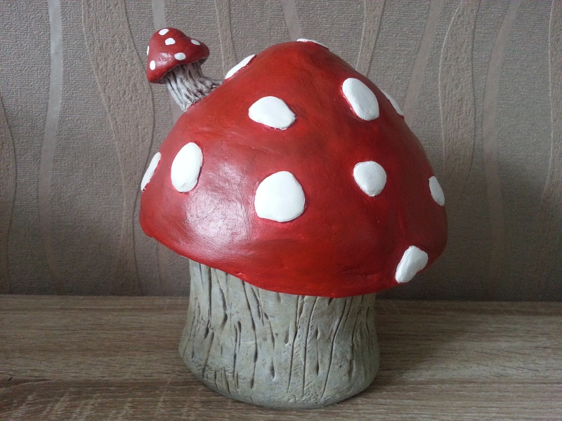 Mushroom House ( 4ème créa ) Juillet 2016 Myriam 20160728