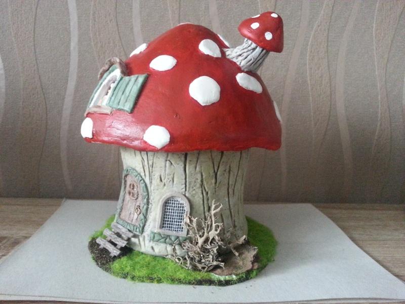 Mushroom House ( 4ème créa ) Juillet 2016 Myriam 20160741