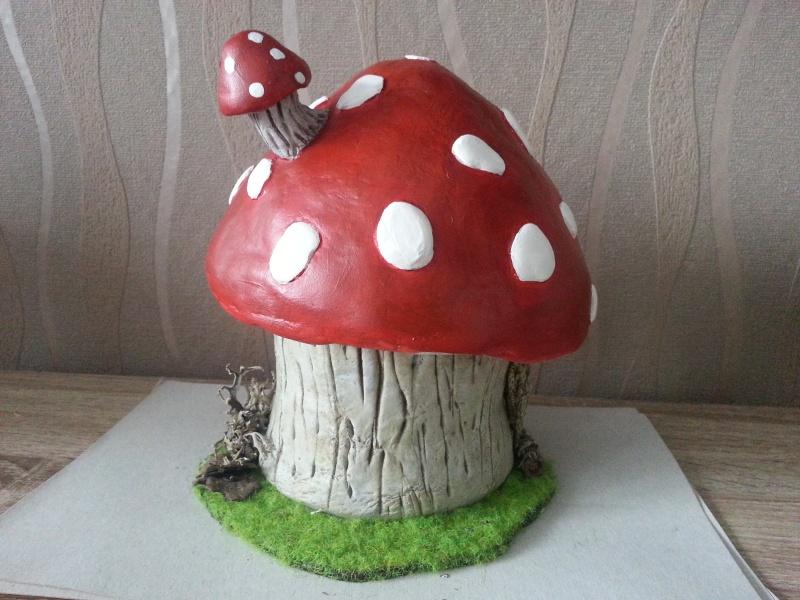 Mushroom House ( 4ème créa ) Juillet 2016 Myriam 20160743