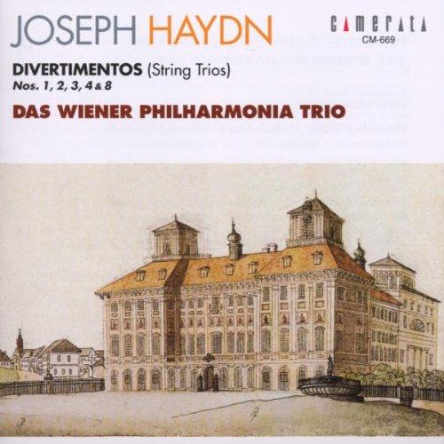 Les trios pour cordes HobV. Haydn_12