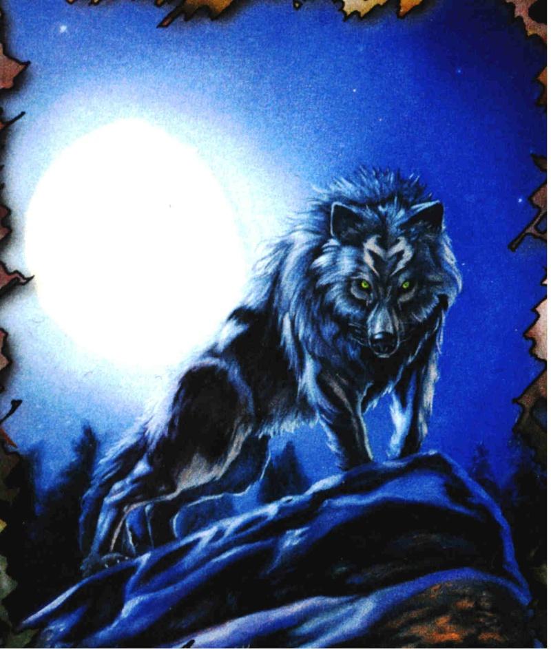 Ashram le Veilleur - Guerrier divin d'Epsilon. Loup_310