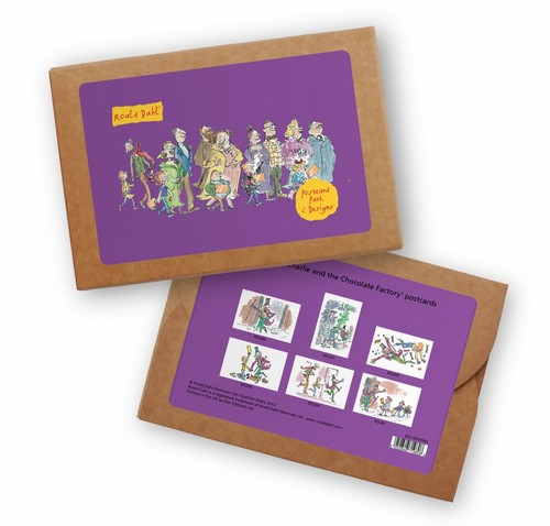 Coffret cartes postales Roald Dahl Roald10