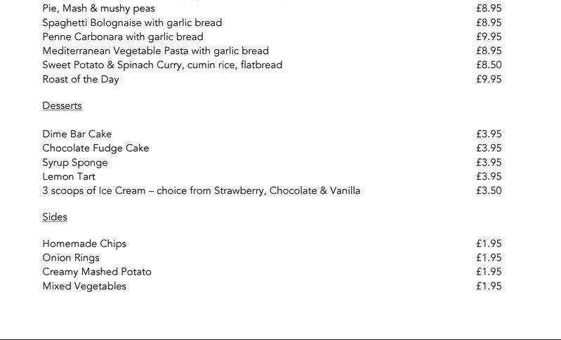 Toontastic Meal Choice. Menu210