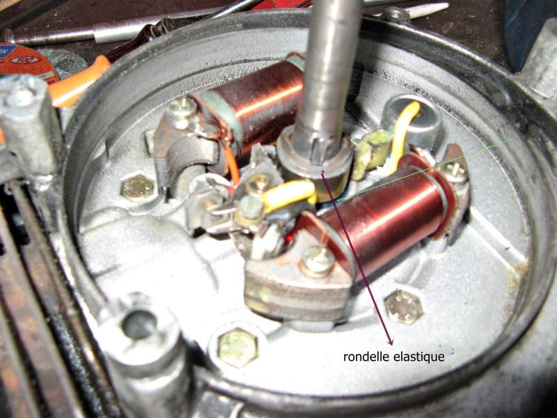 probléme a l'interieure du compartiment des vis et bobines Piaggi11