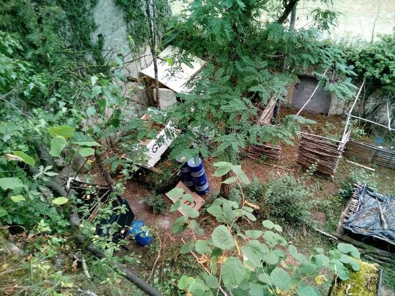 Suite de l'aménagement de la ruine du terrain de cross 14045310