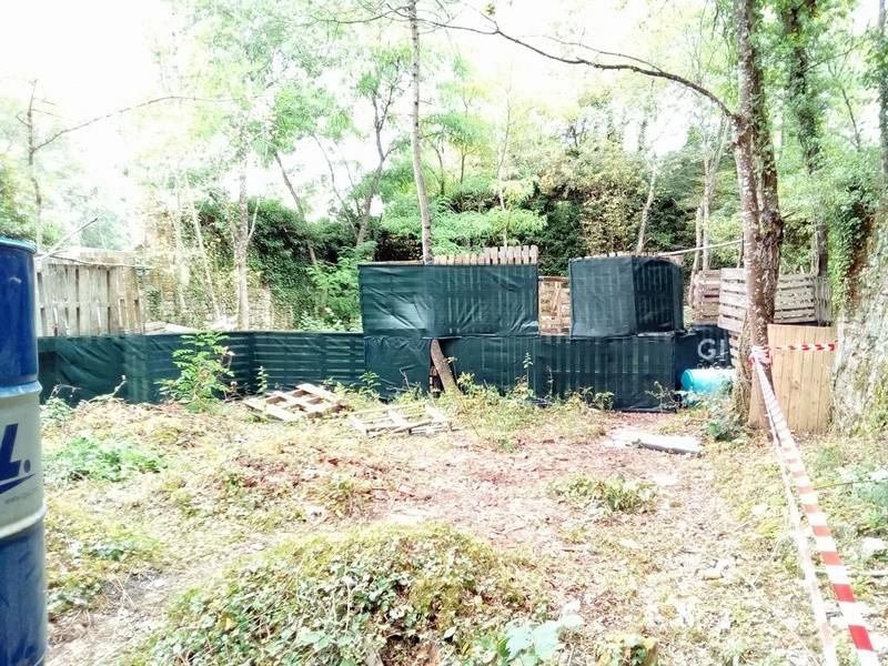 Suite de l'aménagement de la ruine du terrain de cross 14075110