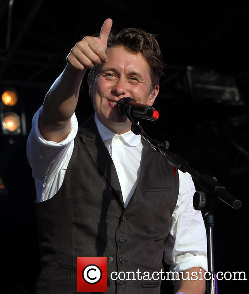 Mark Owen at Lulworth Castle Camp Bestival-3rd August 2013 112