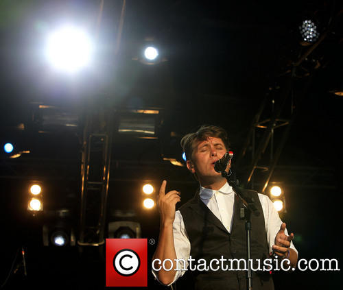 Mark Owen at Lulworth Castle Camp Bestival-3rd August 2013 211