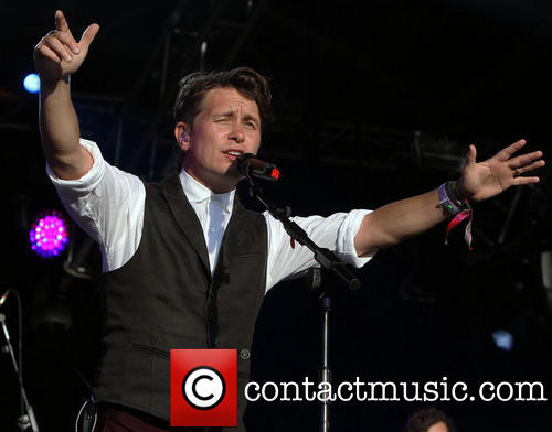 Mark Owen at Lulworth Castle Camp Bestival-3rd August 2013 310