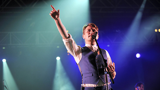 Mark Owen at T in the Park 2013 510